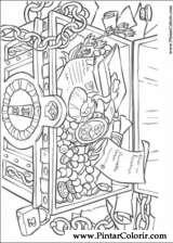 Pintar e Colorir Piratas Do Caribe - Desenho 023