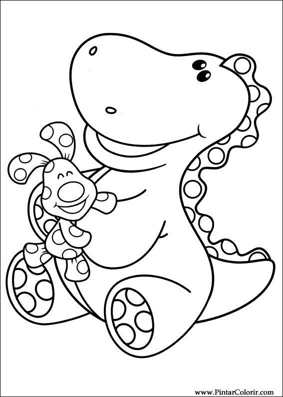 Dibujos Para Pintar Y Color Azul Pistas Imprimir Diseno 011