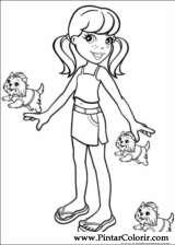 Pintar e Colorir Polly Pocket - Desenho 040