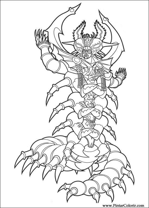 Desenhos Para Pintar E Colorir Power Rangers Imprimir Desenho 014