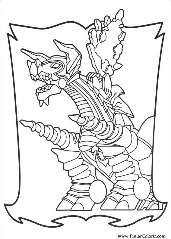 çizimler Boya Ve Renk Power Rangers Için Baskı Tasarım 016