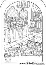Pintar e Colorir Princesa Leonora - Desenho 013