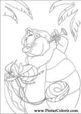Pintar e Colorir Princesa Sapo - Desenho 053
