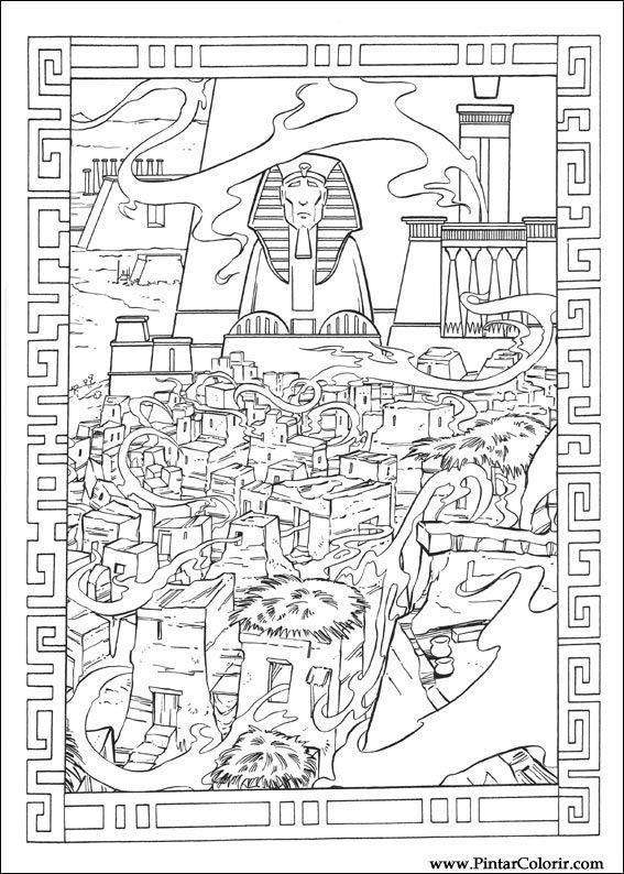 Desenhos Para Pintar E Colorir Principe Egito Imprimir Desenho 027