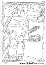 Pintar e Colorir Principe Egito - Desenho 001
