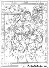 Pintar e Colorir Principe Egito - Desenho 003