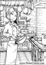 Pintar e Colorir Ratatouille - Desenho 004