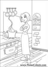 Pintar e Colorir Ratatouille - Desenho 006
