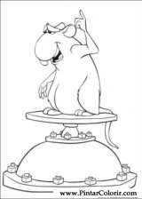 Pintar e Colorir Ratatouille - Desenho 007