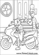 Pintar e Colorir Ratatouille - Desenho 047