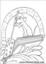 Pintar e Colorir Ratatouille - Desenho 056