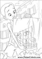 Pintar e Colorir Rio - Desenho 010
