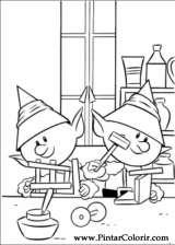 Pintar e Colorir Rudolph - Desenho 008