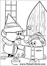 Pintar e Colorir Rudolph - Desenho 009