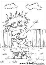 Pintar e Colorir Rugrats - Desenho 004