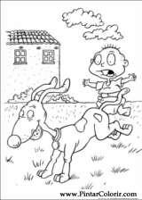 Pintar e Colorir Rugrats - Desenho 005