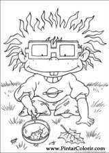 Pintar e Colorir Rugrats - Desenho 015