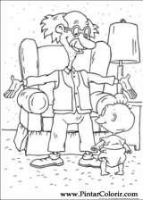 Pintar e Colorir Rugrats - Desenho 016