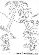 Pintar e Colorir Rugrats - Desenho 028