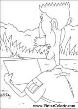 Pintar e Colorir Rugrats - Desenho 042
