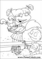 Pintar e Colorir Rugrats - Desenho 046