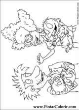 Pintar e Colorir Rugrats - Desenho 050