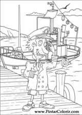Pintar e Colorir Rugrats - Desenho 056