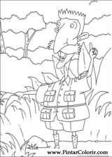 Pintar e Colorir Rugrats - Desenho 057