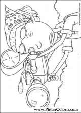 Pintar e Colorir Rugrats - Desenho 058