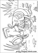 Pintar e Colorir Rugrats - Desenho 060