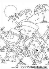 Pintar e Colorir Rugrats - Desenho 063