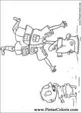 Pintar e Colorir Rugrats - Desenho 076