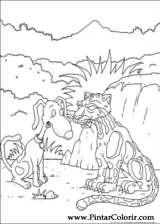 Pintar e Colorir Rugrats - Desenho 078