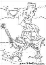 Pintar e Colorir Rugrats - Desenho 083