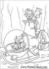 Pintar e Colorir Rugrats - Desenho 086