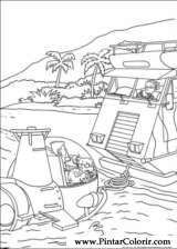 Pintar e Colorir Rugrats - Desenho 091