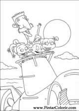 Pintar e Colorir Rugrats - Desenho 093