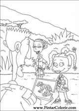 Pintar e Colorir Rugrats - Desenho 095