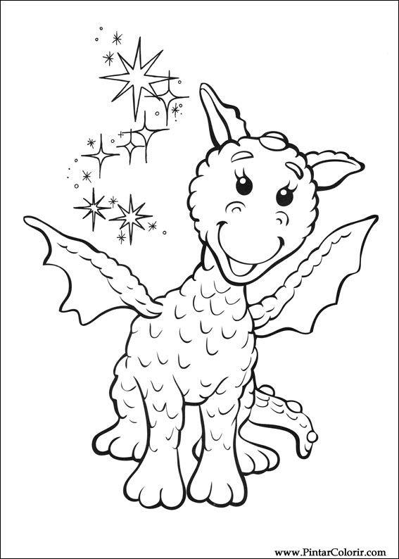 Desenhos Para Pintar E Colorir Rupert Urso Imprimir Desenho 004