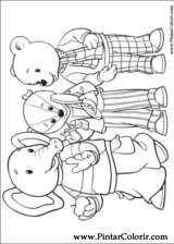 Pintar e Colorir Rupert Urso - Desenho 001