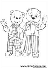 Pintar e Colorir Rupert Urso - Desenho 003