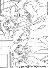 Pintar e Colorir Sailor Moon - Desenho 006