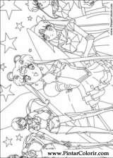 Pintar e Colorir Sailor Moon - Desenho 007