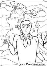 Pintar e Colorir Scooby Doo - Desenho 080