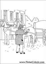 Pintar e Colorir Sherlock Holmes - Desenho 004