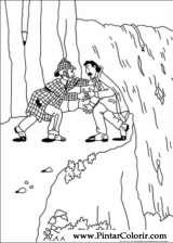 Pintar e Colorir Sherlock Holmes - Desenho 009