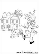 Pintar e Colorir Sherlock Holmes - Desenho 011