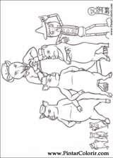 Pintar e Colorir Shrek Para Sempre - Desenho 024