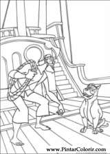 Pintar e Colorir Sinbad - Desenho 004