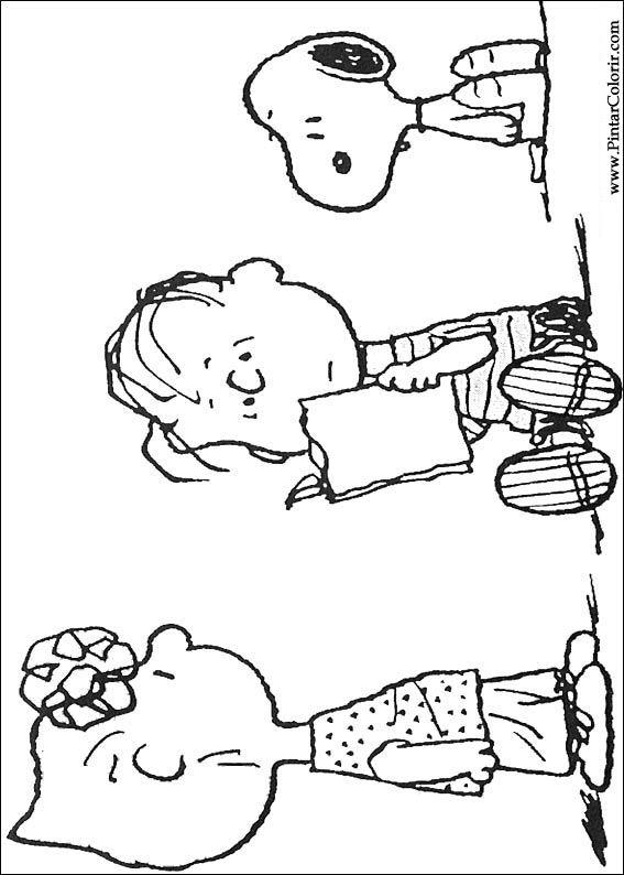 Desenhos Para Pintar E Colorir Snoopy Imprimir Desenho 031